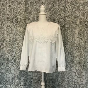 Laura And Jayne Women's 16 Lace Vintage Blouse